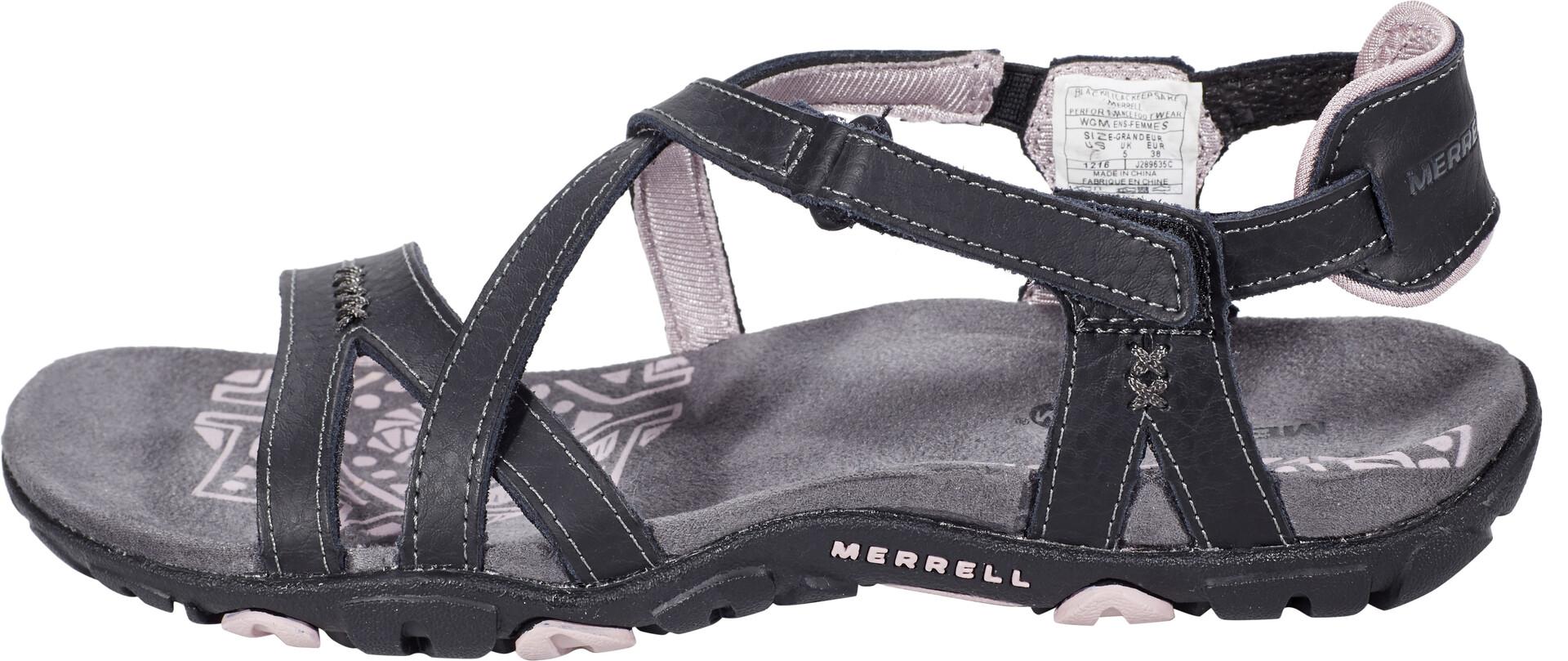 Merrell Ltr Sandspur Keepsake Women Rose Blacklilac Sandals j4ALR35